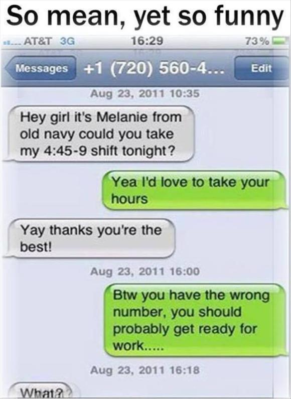 so mean so funny