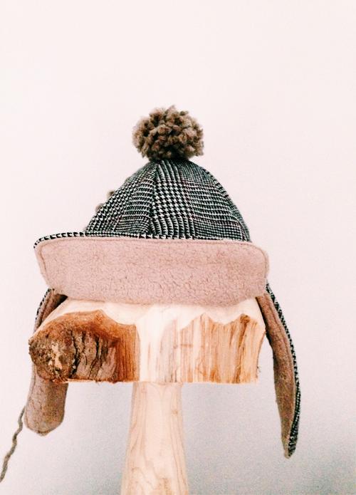warme mutsen van Tweed blazers