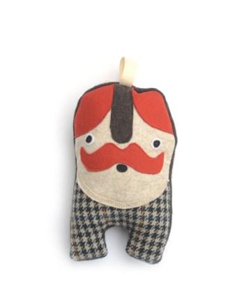 mr whiskers handgemaakte knuffel
