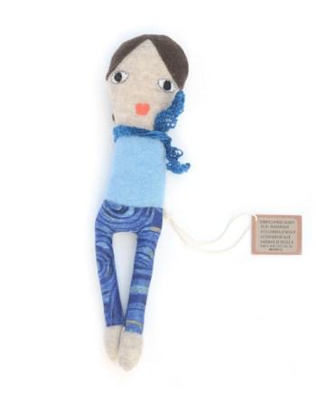 Skinnygirl blue lappenpop