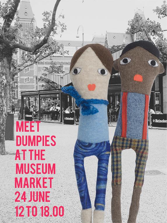 dumpies op de museummarkt