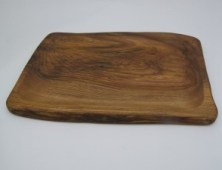 Hollowed Platter Elm