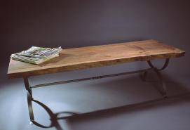Elm and Iron table