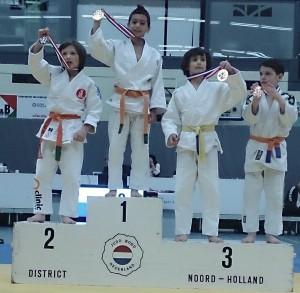 Jamie Pitstra Noord-Hollands kampioen judo