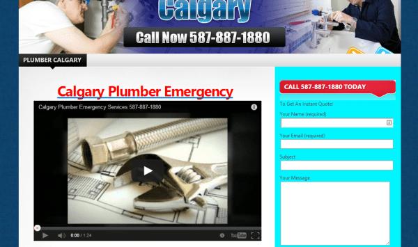 Calgary Plumber Emergency 587-887-1880