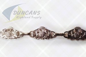 Thistle Sporran Chain Chrome