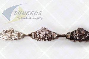 Thistle Sporran Chain Chrome
