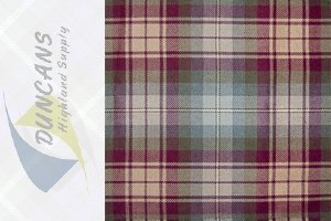 AULD SCOTLAND LIGHT WEIGHT TARTAN FABRIC