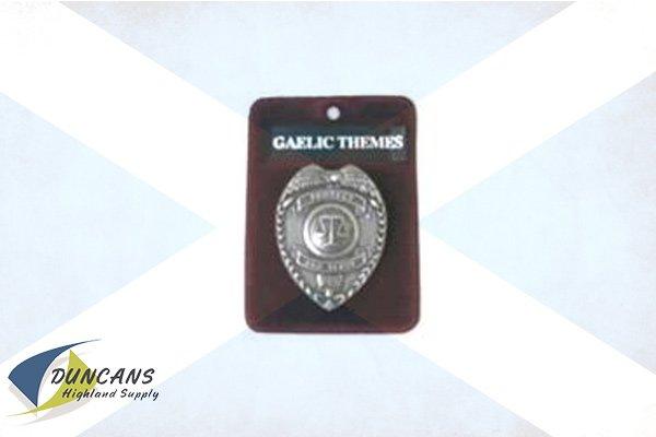 Law Enforcement Cap Badge