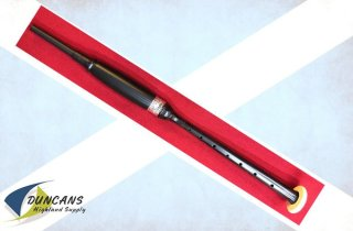 MacRae Blackwood Practice Chanter with Thistle Engraved Alloy Ferrule
