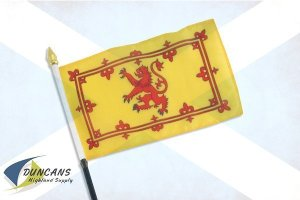 rampant lion flag