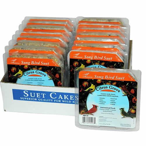 Citrus Suet, 16 Cakes