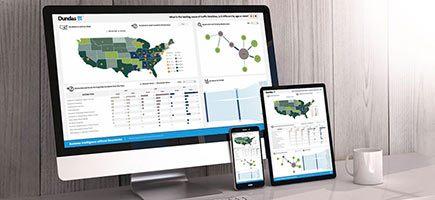 Web data visualization