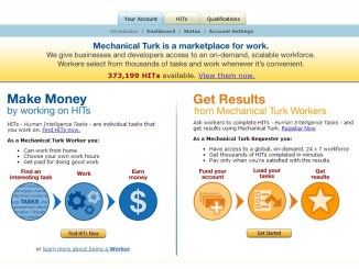 Amazon mechanical turk dundi