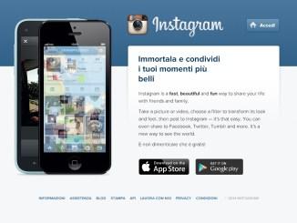 Instagram salvare le foto