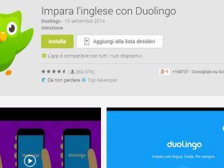 Duolinguo app