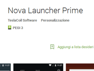 Nova launcher prime 10 centesimi