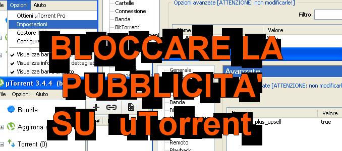 Come h bloccare la pubblicità su torrents