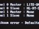 Cmos checksum error default loaded