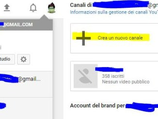 Come creare più canali con lo stesso account su youtube