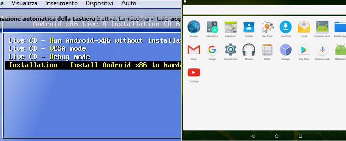 Come installare android su pc con virtualbox