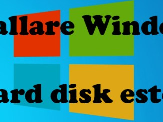 Come installare windows su hard disk esterno