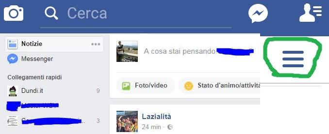 Facebook come vedere tutti post invece di top post