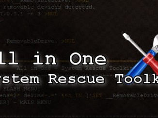 Disponibile all in one system rescue toolkit 2017