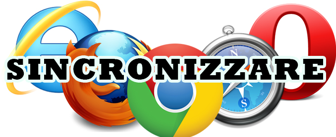 Come sincronizzare browser tra computer