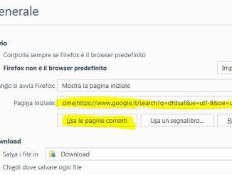 Come copiare tutti i link aperti in tutte le schede di firefox senza estensioni