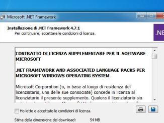 Microsoft ha rilasciato net framework 4 7 1