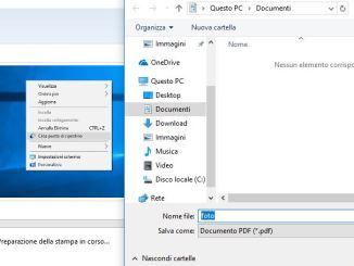 Crea file pdf solo con le immagini con un clic