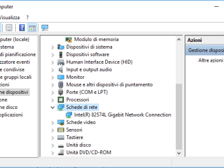 Wifi si disconnette dopo aver aggiornato windows 10