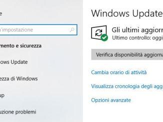 Errore 0x80070652 quando provo ad aggiornare di windows 10
