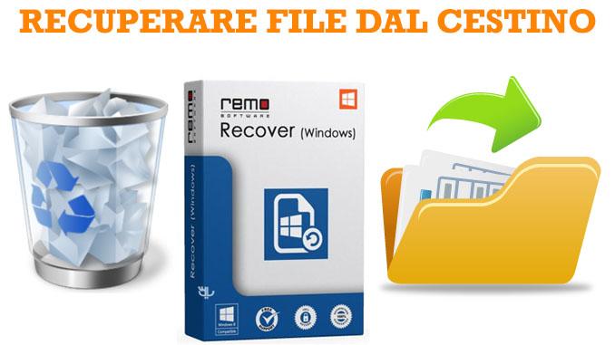 Recuperare file cancellati dal cestino in windows 10