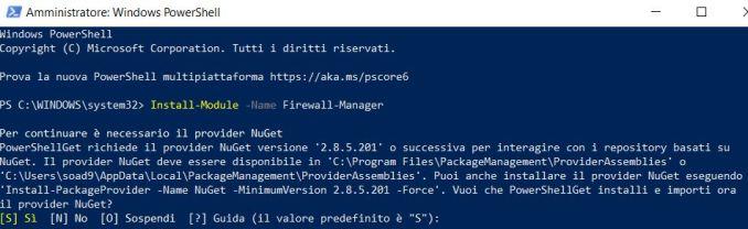 Come esportare regole singole dal firewall in windows 10