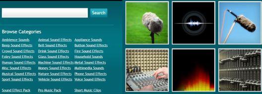 Migliori siti web per effetti sonori audio
