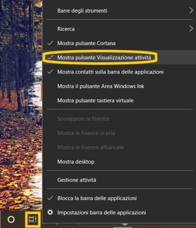 Come attivare desktop virtuale in windows 10