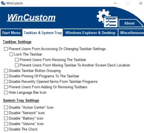 Come personalizzare la barra delle applicazioni in windows 10