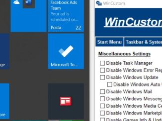 Personalizzare windows con wincustom