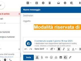 Come aggiungere una data di scadenza ad una email su gmail