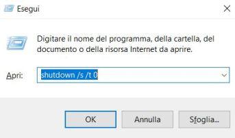 Impedire il riavvio dei programmi su windows 10