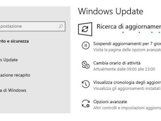 Errore 0x8007001f di windows update su windows 10