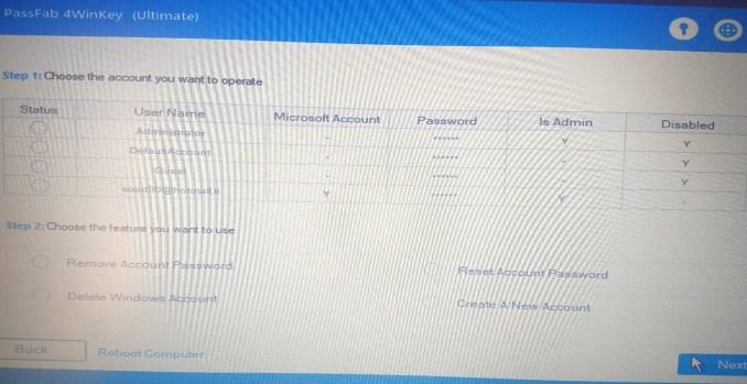 Passfab 4winkey rimuovere password dal account windows 10