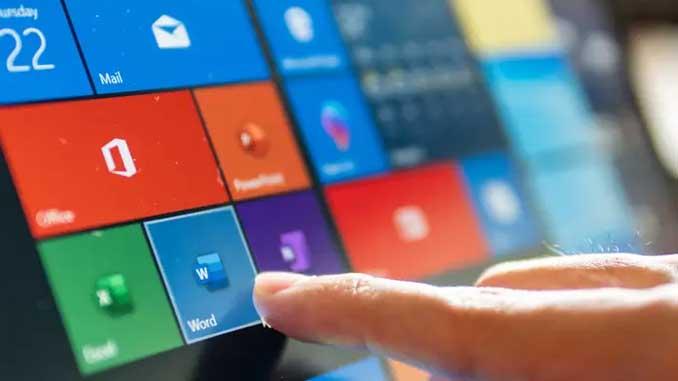 Touchscreen di windows 10 non funzionante