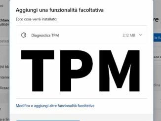 Come installare o disinstallare tpm in windows 11