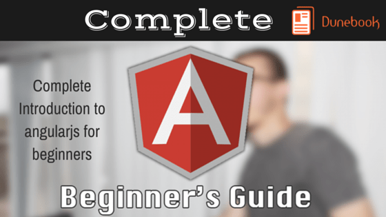 Complete Introduction To angularjs For Beginners(4)