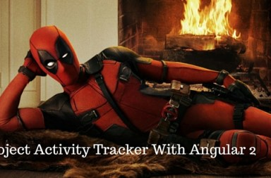 Project Activity Tracker With Angular 2Project Activity Tracker With Angular 2