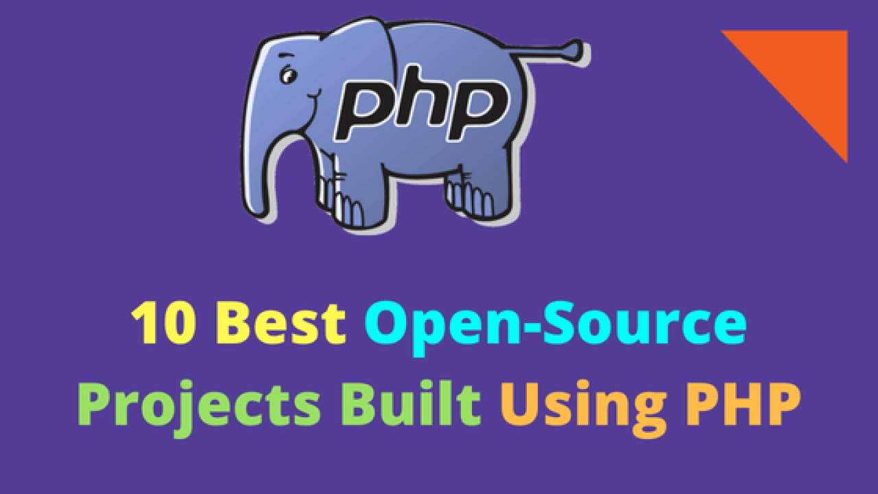 10 Best Open-Source Projects Built Using PHP | Dunebook