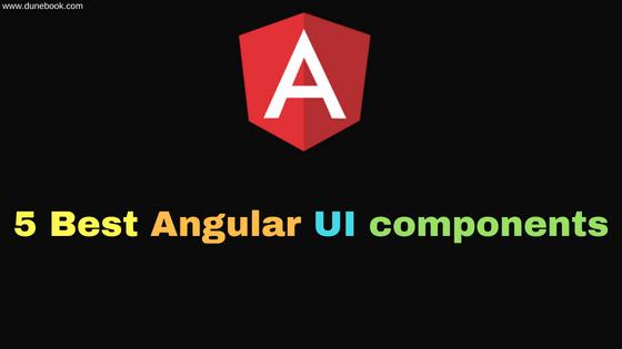 Angular UI Components